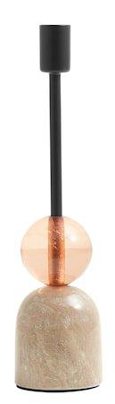 Lysestake Marmor Peach L