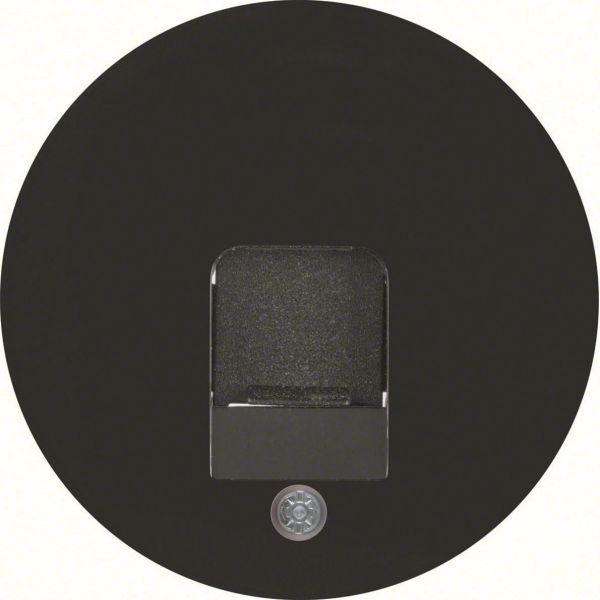 Hager 11702045 Keskiölevy soveltuvuus: R.1, R.3 ja R.C Musta, 1 moduuli