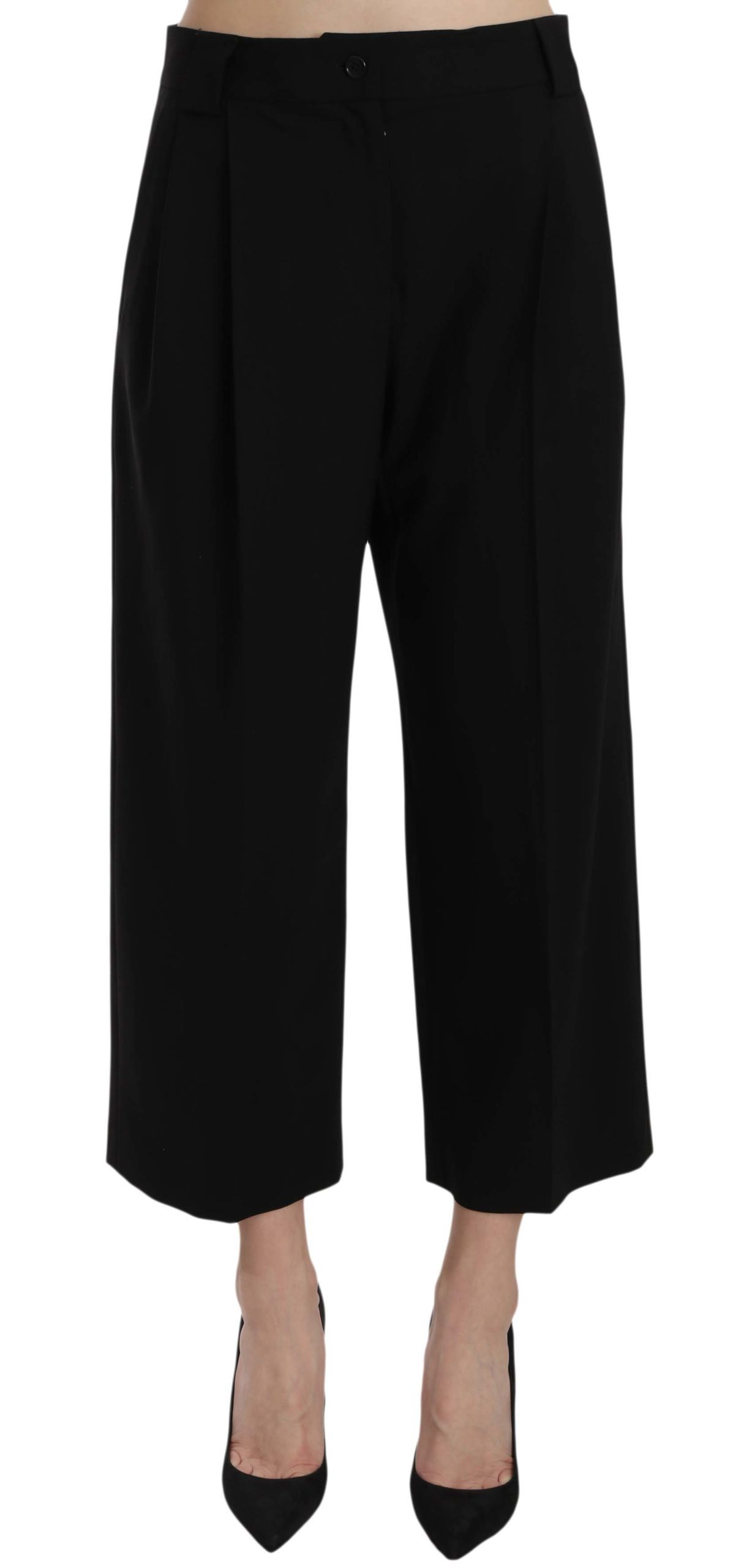 Dolce & Gabbana Women's Trouser Black PAN61197 - IT40|S