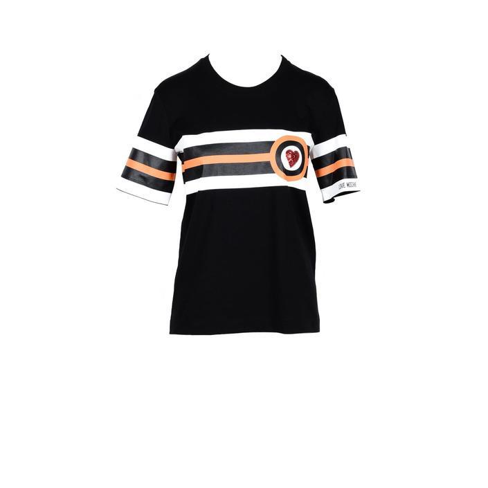 Love Moschino Women's T-Shirt Black 178029 - black 44
