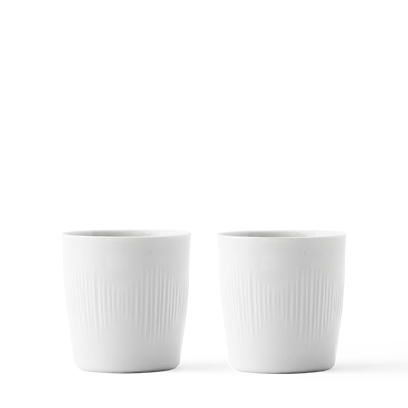 Thermodan Termokopp Hvit Porselen 20 cl 2-pakning