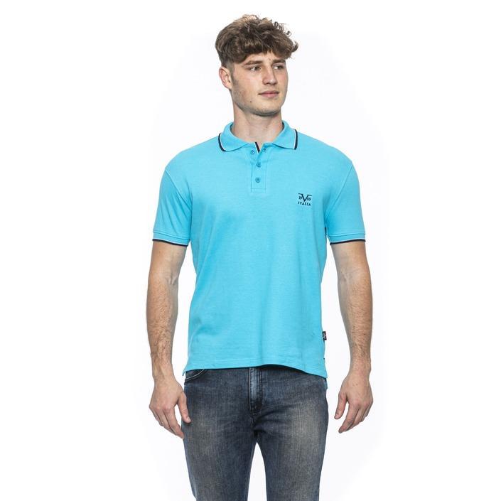 19v69 Italia Men's Polo Shirt Blue 185394 - blue M