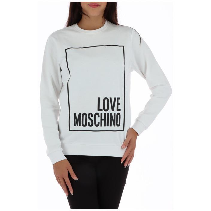 Love Moschino Women's Sweatshirt White 320527 - white 40