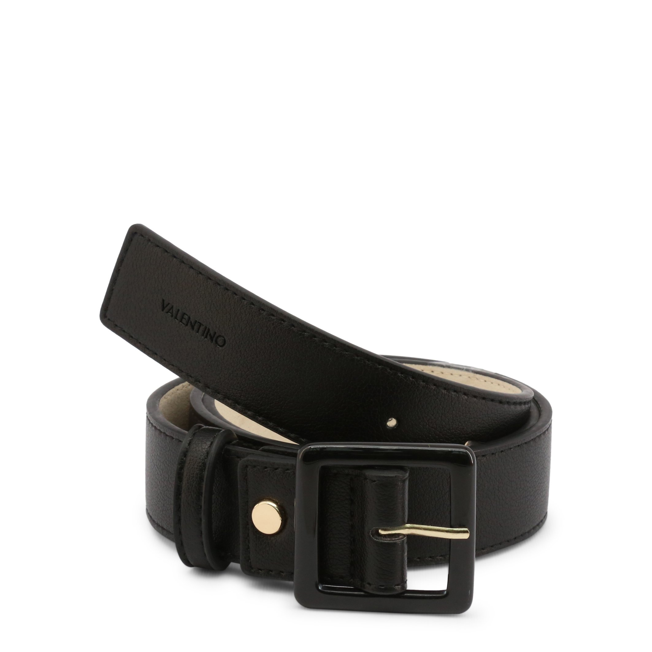 Valentino by Mario Valentino Women's Belt Various Colours ANGELO-VCS3XH57 - black S
