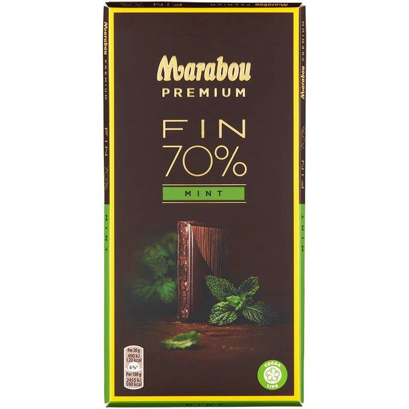 Premium choklad 70% mint - 25% rabatt