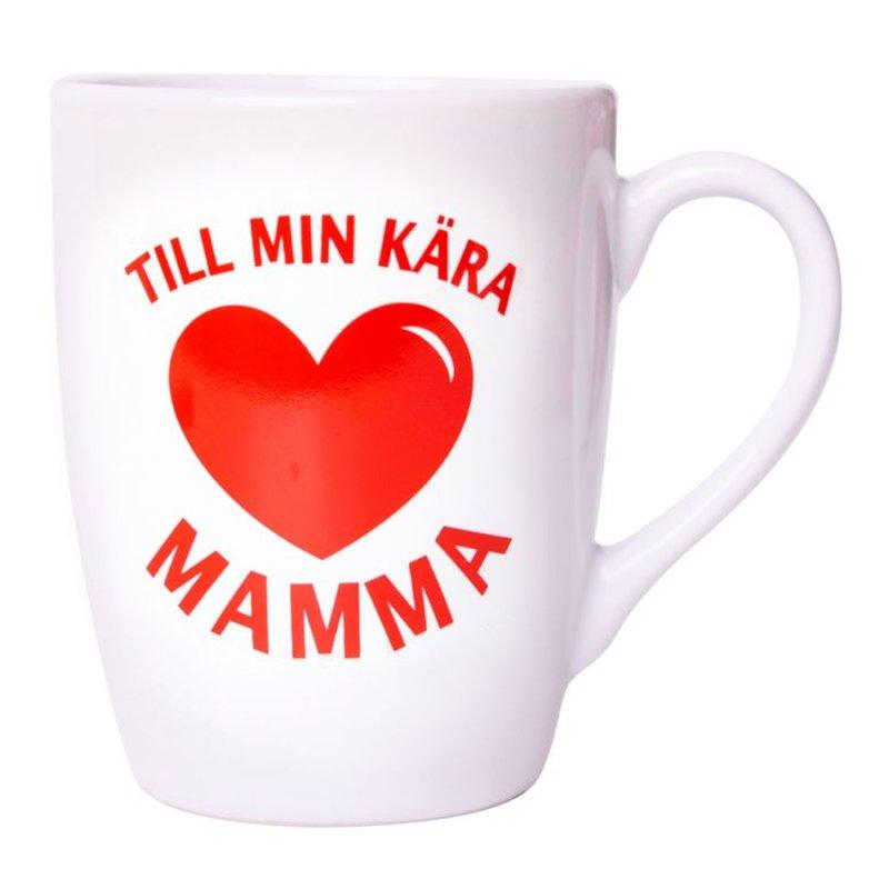 Mugg Till Min Kära Mamma - Vit