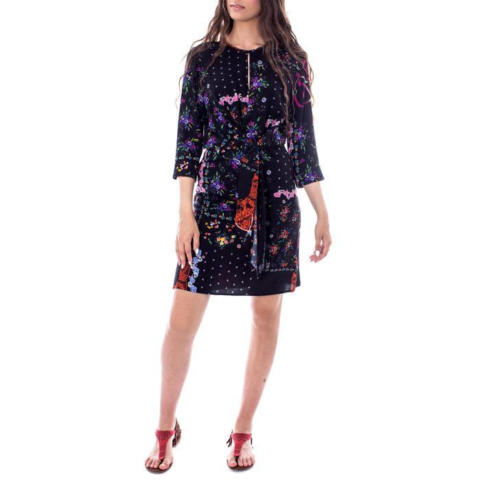 Desigual Women's Dress Black 167763 - black 38