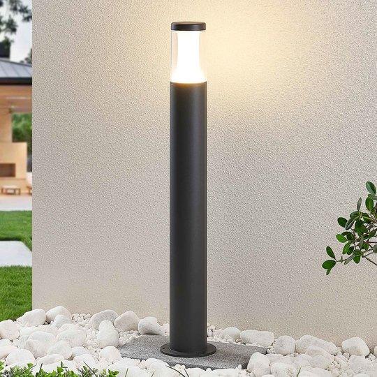 LED-pylväsvalaisin Amily, tummanharmaa, 70 cm