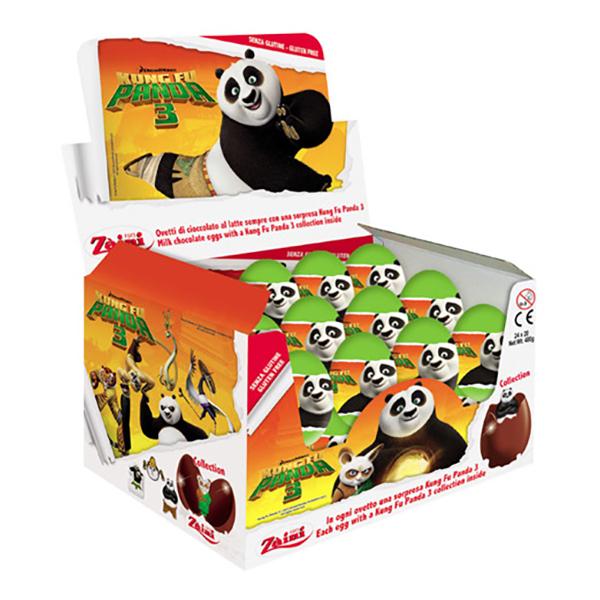Kung Fu Panda Chokladägg - 1-pack