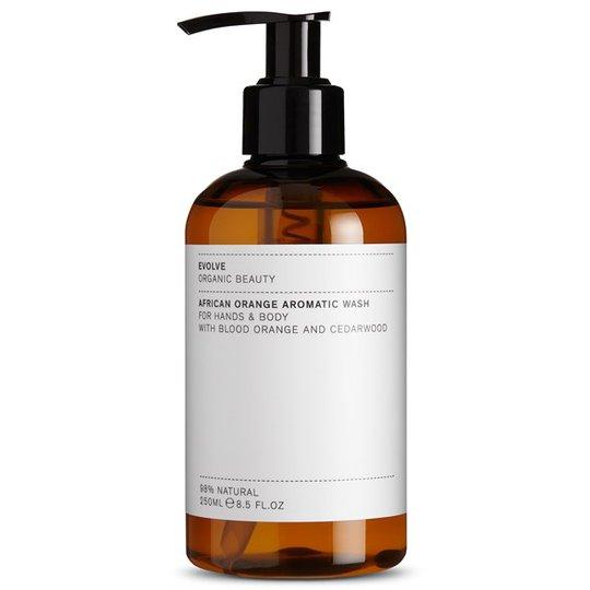 Evolve African Orange Aromatic Wash, 250 ml