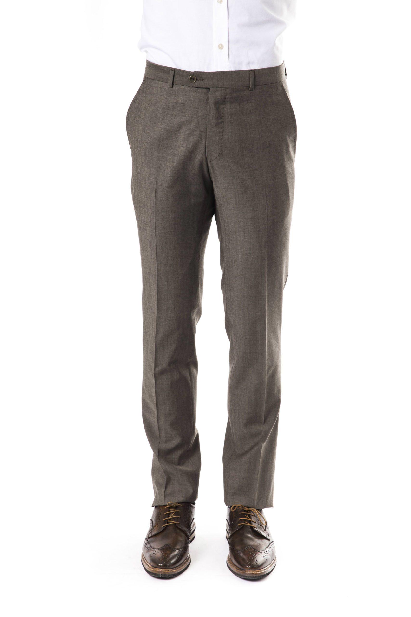 Uominitaliani Men's Trouser Gray UO1394734 - IT50   L