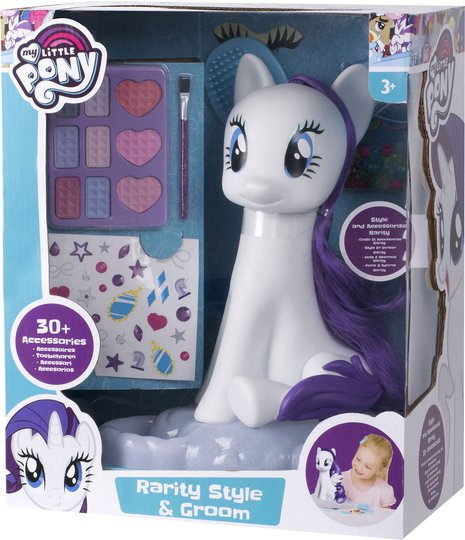My Little Pony Stylinghode Hest Rarity