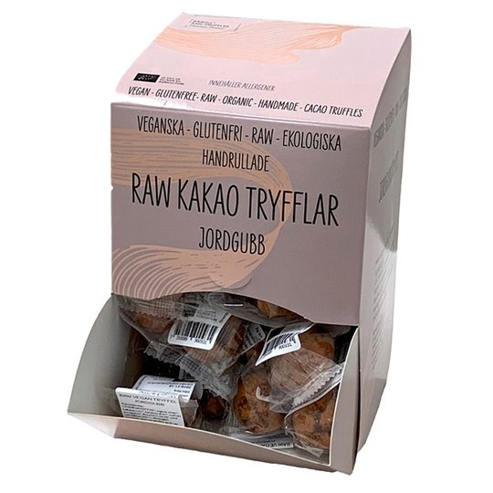 Eko Raw Tryffell Jordgubb 40-pack - 60% rabatt