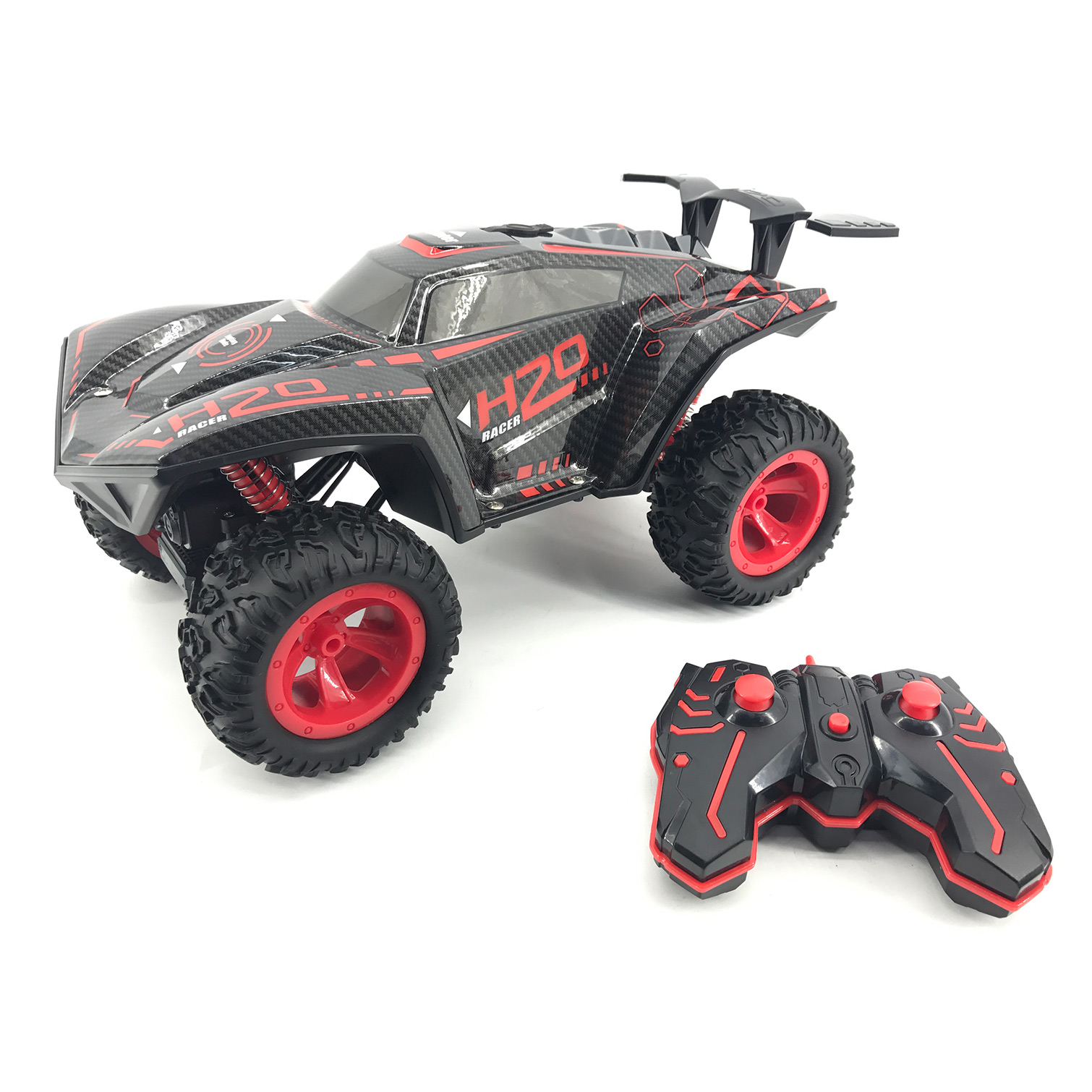 Remote Control Fog Steam Racer with Light and Fog 1:12 (20155)