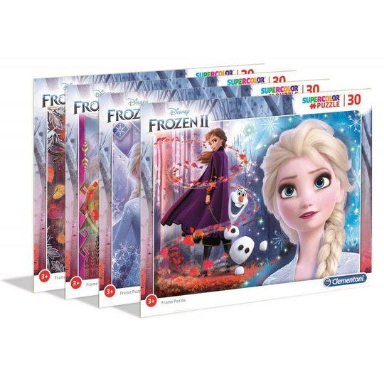 Disney Frozen 2 Rammepuslespill, 30 Biter