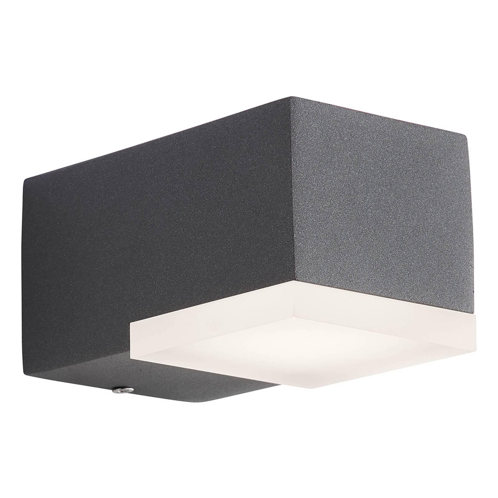 AEG Amity -LED-ulkoseinälamppu, 1-lamppuinen