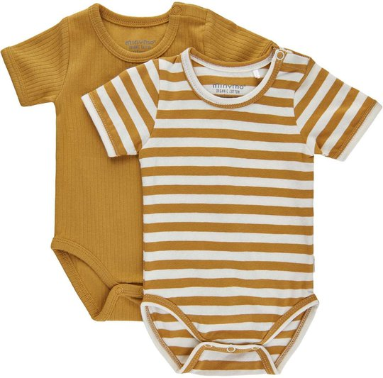 Minymo Body 2-pack, Amber Gold, 62