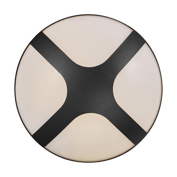 Nordlux Cross 25 Seinävalaisin Musta