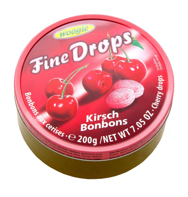 Woogie Fine Drops - Cherry 200g