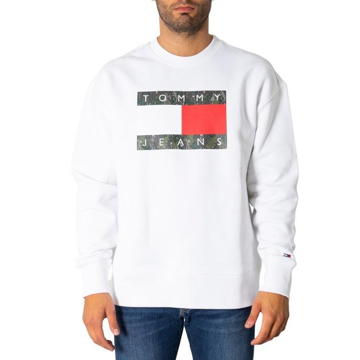 Tommy Hilfiger Jeans Men's Sweatshirt Various Colours 308082 - white XS