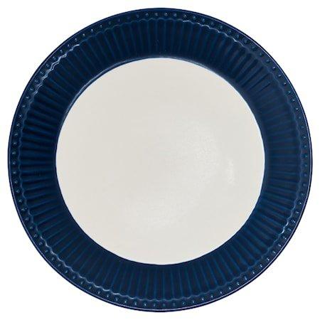Alice Tallerken Mørkeblå 26 cm