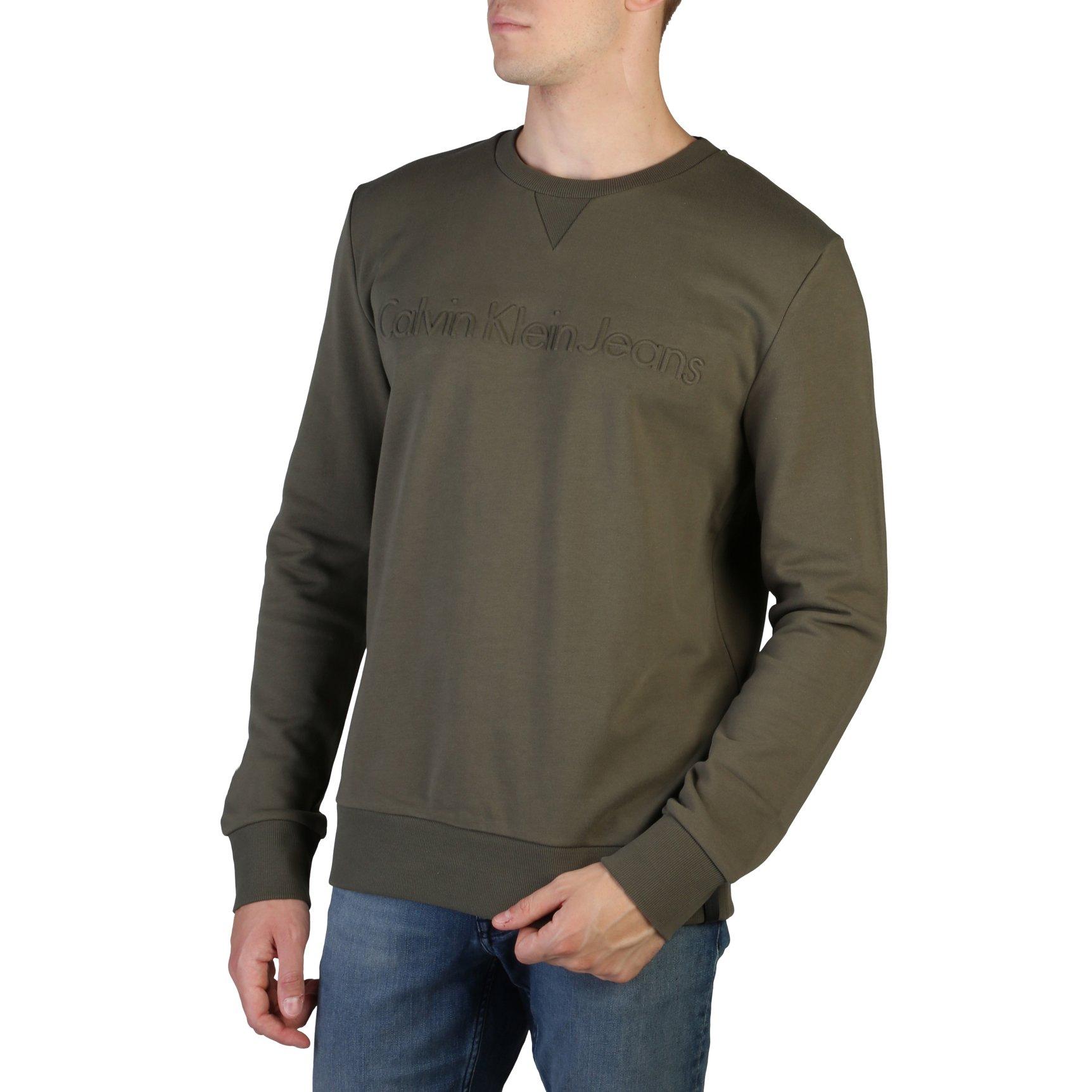 Calvin Klein Men's Sweatshirt Greeen J30J302267 - green S