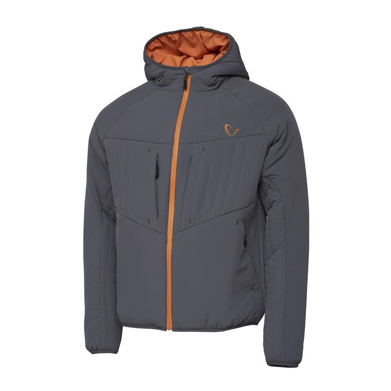 Savage Gear Superlight Jacket XL Varm og lett jakke, Castlerock Grey