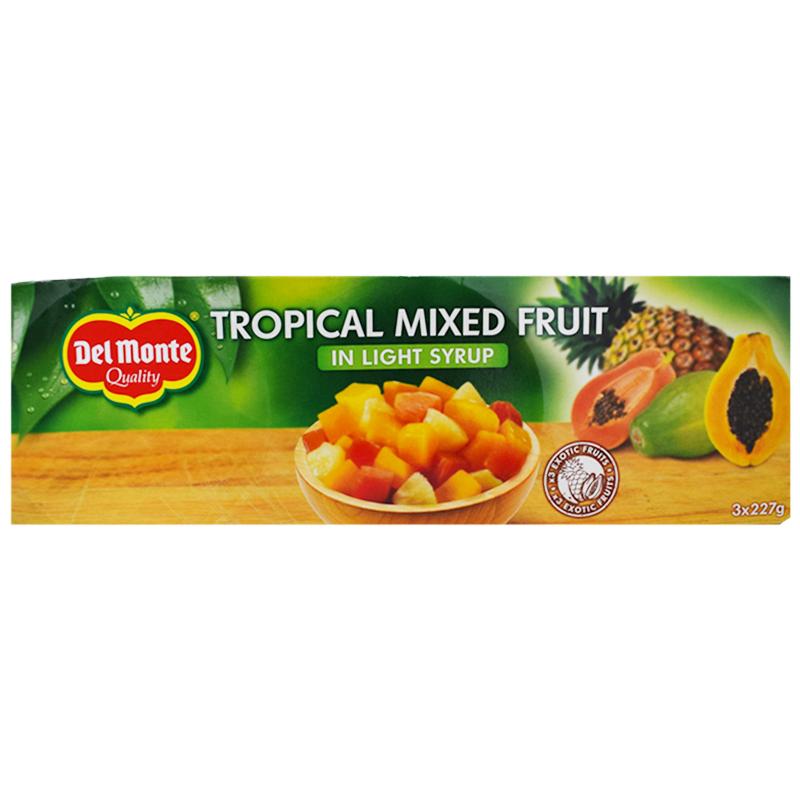 Tropiska Frukter Sockerlag 3 x 227g - 28% rabatt
