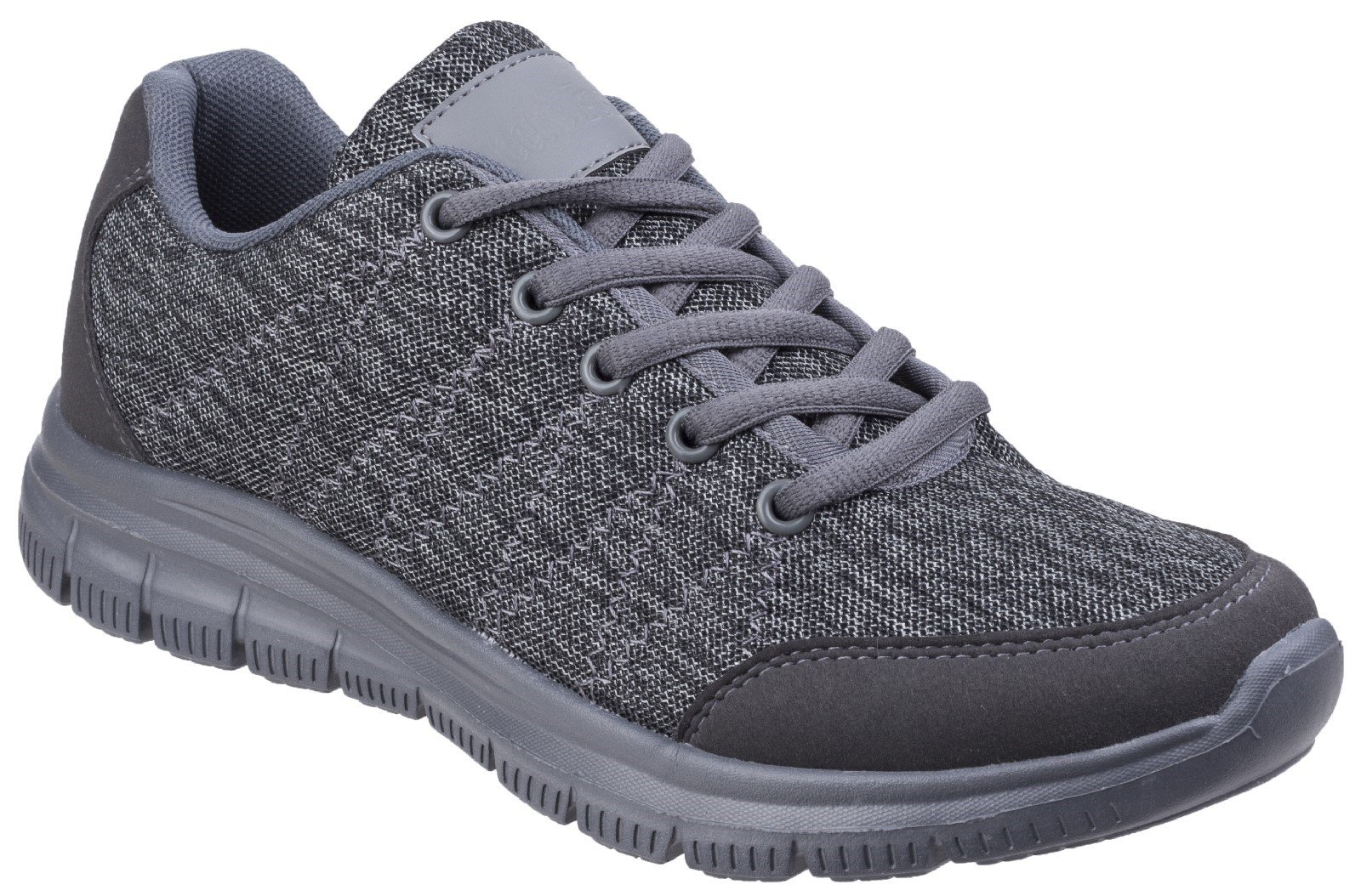 Fleet & Foster Women's Elanor Lace Up Trainer Various Colours 27155-45626 - Grey 3