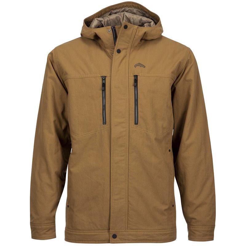 Simms Dockwear Hooded Jacket Dark Bronze XXL