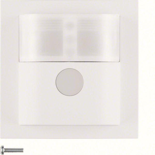 Hager 85341288 Liiketunnistin 45–90°, LVI-ohjauksella Valkoinen, S1, B3, B7