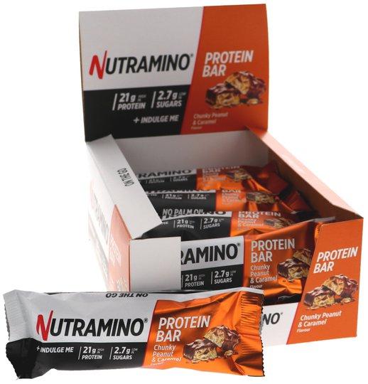 Proteinbars Chunky Peanut & Caramel 12-pack - 48% rabatt