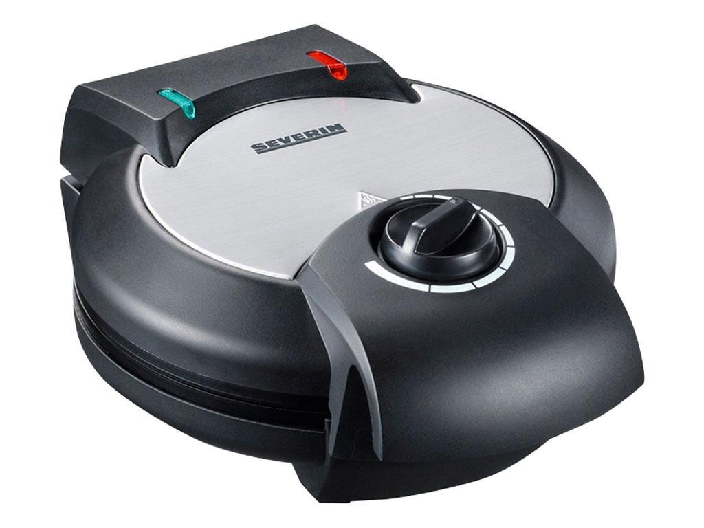 Severin - Waffel Iron 1200 watt - Steal/Black (495849)