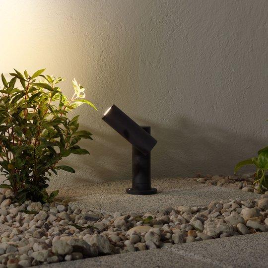 LED-pollarivalaisin Narea, säädettävä, 14 cm