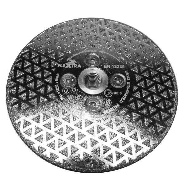 Flexxtra 100163 Diamantklinge 125 mm