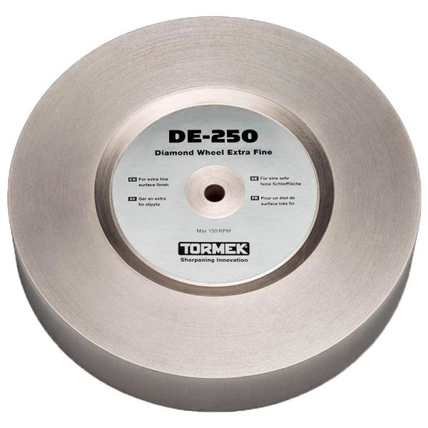 Tormek DE-250 Diamond Wheel Extra Fine Hiomalaikka 250 mm karkeus 1200