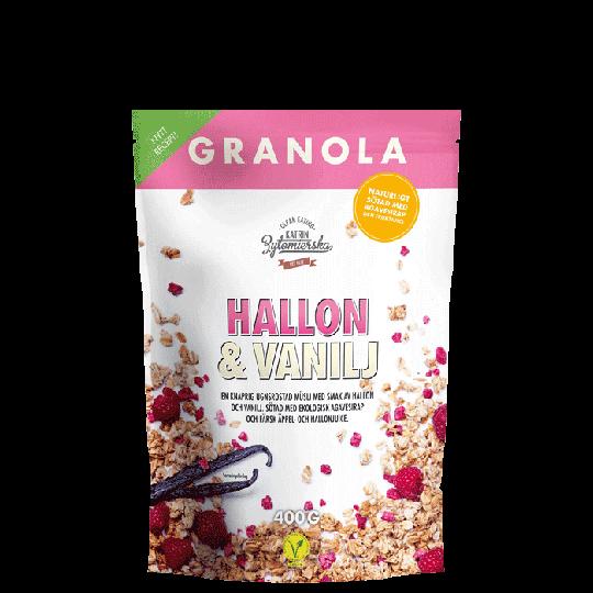 Granola Hallon & Vanilj, 400 g