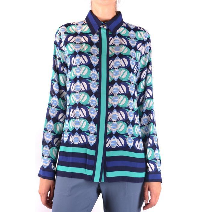 Fay Women's Shirt Blue 163833 - blue XS