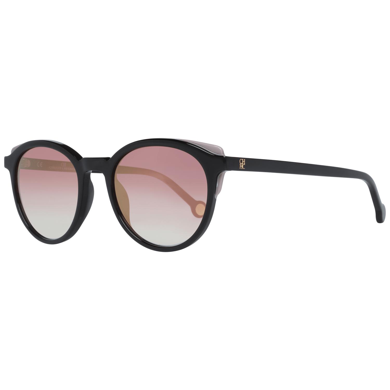 Carolina Herrera Women's Sunglasses Black SHE742 50700G