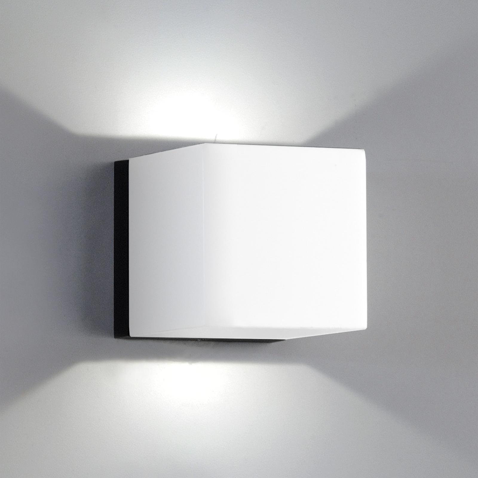 LED-seinävalaisin Dau Mini, 2 lamppua, valkoinen