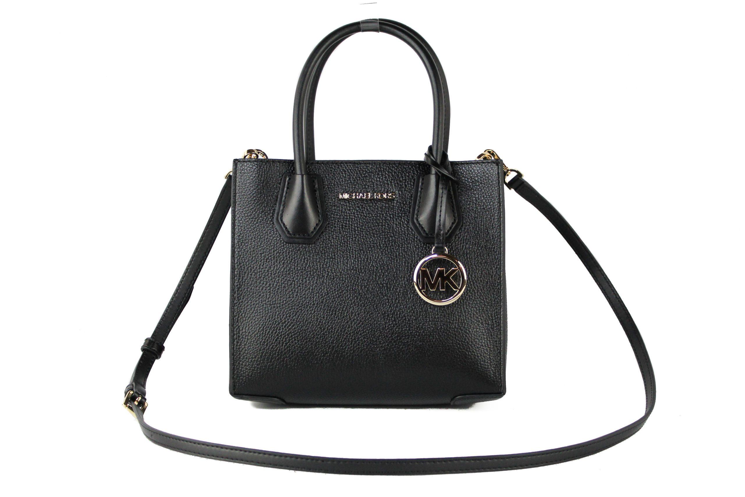 Michael Kors Women's Mercer Crossbody Bag Black 72107