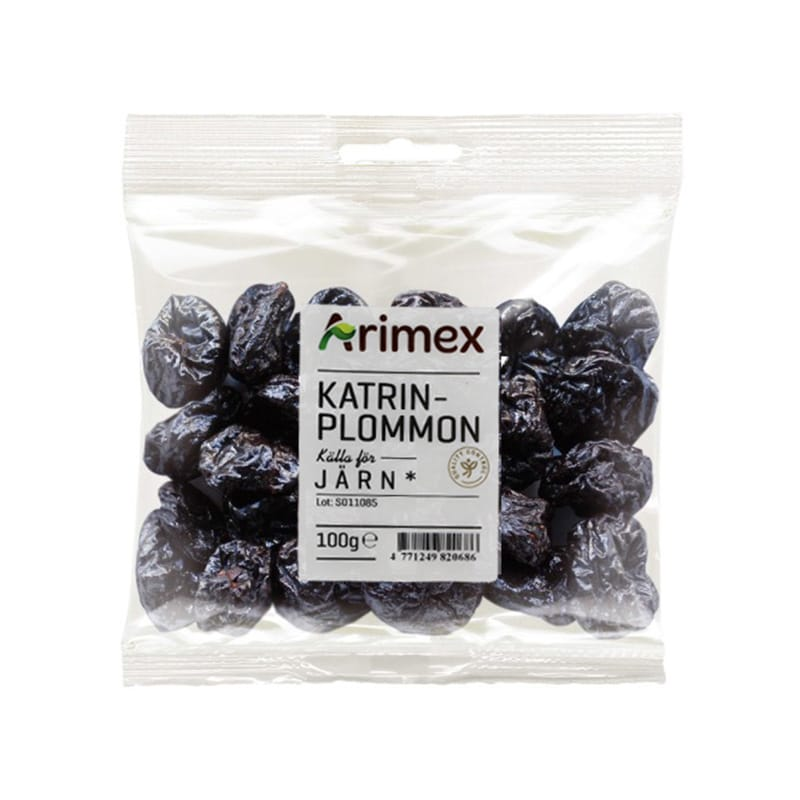 Arimex Katrinplommon 80 gram