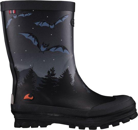Viking Jolly Bat & Eagle Gummistøvel, Black/Multi, 21