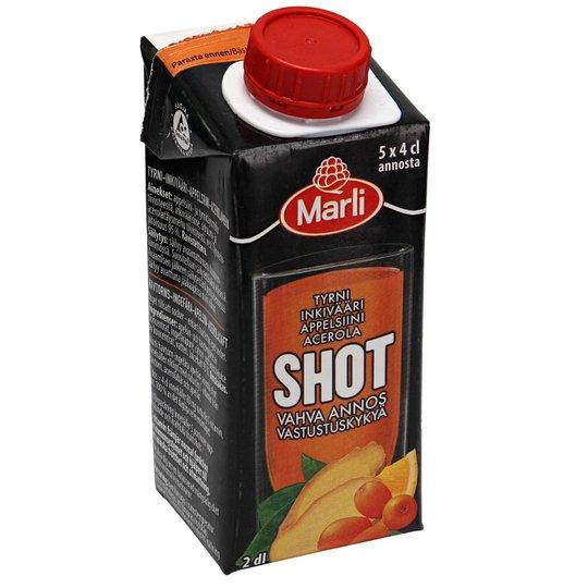 Marli Shot Tyrni, Inkivääri, Acerola & Appelsiini - 63% alennus
