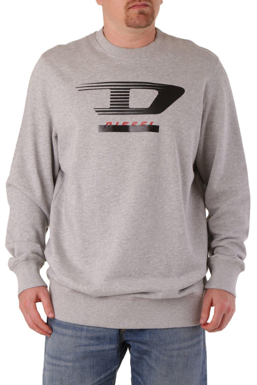Diesel Men's Sweatshirt Various Colours 294149 - grey-1 2XL