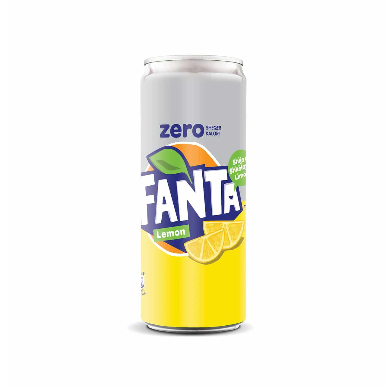 Fanta Lemon Zero 33cl