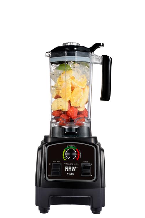 Raw X1000.b Blender 1.2l Black 1000 Watt - Svart