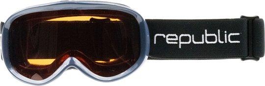 Republic Goggle R650 Junior Skibriller, Indigo