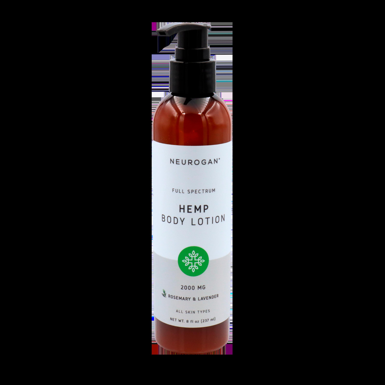 Neurogan - CBD Calming & Moisturizing Body Lotion 240 ml - Lavender & Rosmarin