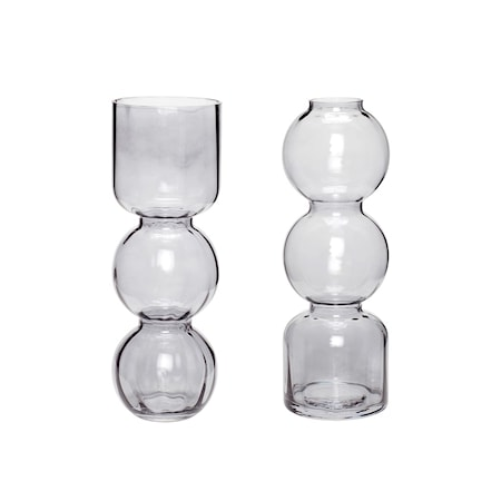 Vas Glas Grå 2 st/förpackning